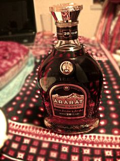 Ararat Brandy! Best brandy in the world.