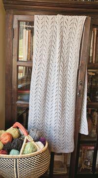 Toasty woodland wrap knitting pattern - shawl pattern