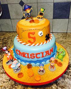 Jake and the never land pirates birthday cake!!