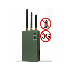 5 Antenna Band Portable Mobile Phone Signal Blocker Jammer
