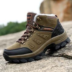Mens Snow Boots Hiking Shoes Ankle Shoes Winter Warm Walking Big Size - Casual Winter Boots - Ideas of Casual Winter Boots - Mens Snow Boots Hiking Shoes Ankle Shoes Winter Warm Walking Big Size Price : Casual Winter Boots, Mens Boots Online, Women's Motorcycle Boots, Mens Snow Boots, Ankle Shoes, Men Hiking, Mid Calf Boots, Hiking Shoes, Fashion Boots