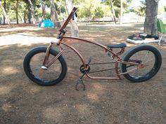 Iron Wheels - кастом велосипед чоппер, круизер