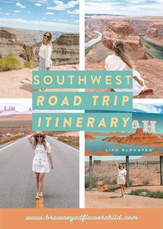 There is nothing like an epic road trip! The American West offers fascinating National Parks and wonders to explore and adventure through. Discover the best Southwest road trip itinerary! #Southwest #SouthwestRoadTrip #SouthwestRoadTripItinerary #RoadTrip