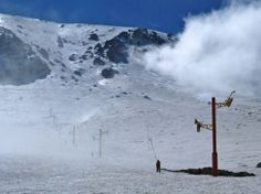 Skiing in Morocco on The African Ski Experience. #ski #morocco #atlasmountains www.untravelledpaths.com