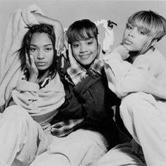 TLC - T-Boz, Left Eye & Chili.