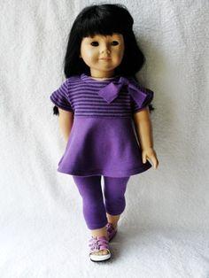 Purple Leggings Set - (45) Separates
