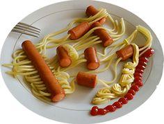 #spaghetti #worstjes #recept