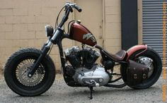 Photo of 1974 Harley Bobber Sportster by Nash Motorcycle Company.