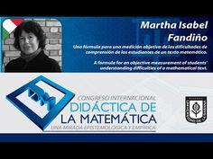 Conferencia Martha Isabel Fandiño (Colombia) Congreso Didáctica de la Ma...