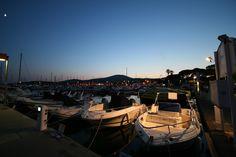 Hafen Sainte Maxime am Abend #2 par To Za