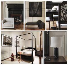 De gauche à droite et de haut en bas: Photos 1, 2 , 3 , 4 et 5: Oxymores - © Gilles & Boissier / 1: chaise club et table, 2: banc et tapis, ...