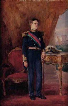 Retrato do Rei D. Manuel II Autor:Marques de Oliveira, João Datação:1907 d.C. - 1908 d.C.