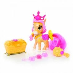 Disney Princess Palace Pets Primp & Pamper Ponies Petit from Blip Toys Princess Palace Pets, Disney Princess Dolls, Carnival Of The Animals, Kids Cartoon Characters, Mickey's Very Merry Christmas, Christmas Presents, Minion Party, Alice, Disney Toys