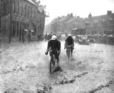 A wet start to the 1936 Tour de France