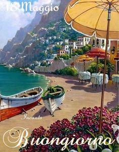 Capri Island, Pintura Exterior, Classical Realism, Creation Photo, Illustration Art, Illustrations, Am Meer, Fine Art, Amalfi Coast