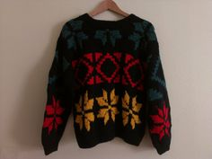 80s vintage women's small ESPIRIT wool sweater by LAvintageDeals