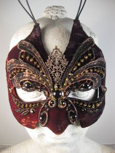 Black and Brown Mens Masquerade Mask//Masquerade Ball Mask//Mask Masquerade//Halloween Masquerade Mask//Mardi Gras Masquerade Mask//Mask