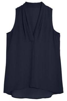 Sleeveless Drape Neck Top | £20 | Next