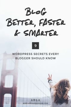 9 WordPress Secrets for Blogging Better, Faster, and Smarter // There a tons of WordPress tools and features that help you spend less time on things like formatting and scheduling blog posts. These are the WordPress secrets every blogger should know that will help you use WordPress more efficiently. Click to read these tips!