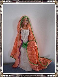 De Panpanette Crochet Barbie Clothes, Ken Doll, Barbie Dress, Barbie And Ken, Creations, Dressing, Victorian, Dolls, Knitting