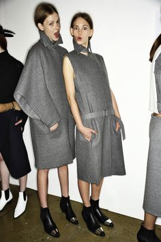 New form of cape Dion Lee AW14-15 Fashion Show New York Backstage | Sonny Vandevelde