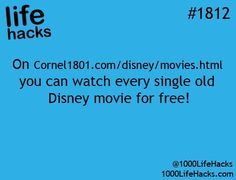 Where to watch all old Disney movies for free