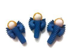 FREE UK SHIPPING  6x Blue Pasta Angels von Mawsii auf Etsy, £7,99