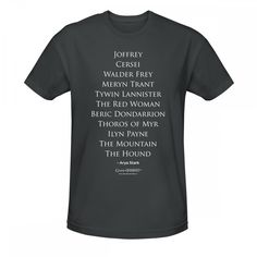 TV ASOIAF GOT Stick/'em With The Pointy End Mens T-Shirt Needle Sword