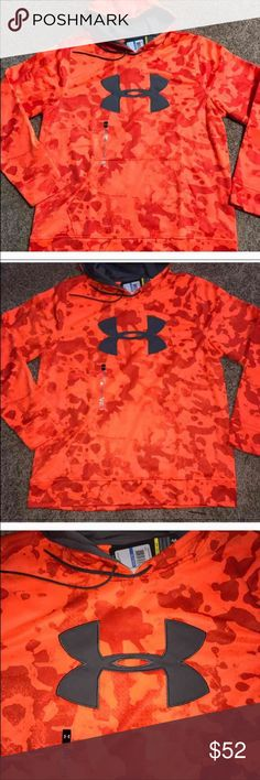 New with tags men's under Armour hoodie XL New with tags men's under Armour hoodie XL orange camo Under Armour Shirts Sweatshirts & Hoodies