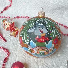"""Купить Ёлочный шар """"Сластёна"""" - новогодний подарок, елочные игрушки, елочный шар, елочный шарик"""