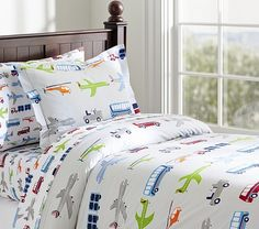 Brody Duvet Cover | Pottery Barn // I bet this is expensive! But It is super cute!