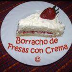 pastel borracho de fresas con crema - This was my favorite cake when I was little. I must make it soon.
