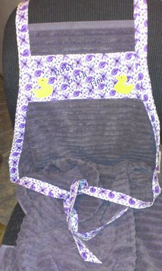 Baby & Mommy Bath towel by CreativeGiftBoutique on Etsy, $15.00
