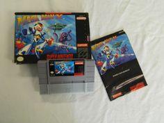 Mega Man X Super Nintendo SNES #megaman