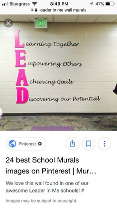 leadership quote leader in me ~ Quotes Business Education Classroom, School Classroom, School Fun, Primary Education, Middle School, Physical Education Games, Leadership Bulletin Boards, Classroom Bulletin Boards, Classroom Door