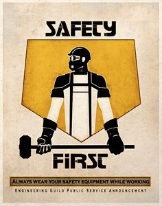 Steampunk Dieselpunk Art Print Safety First by TigerHouseArt