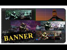 ▶ pt. 1 - Como criar um banner simples para facebook (gamers) - YouTube