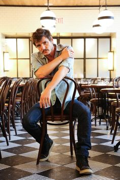 HELP ME  there's an interview, but I'm not past the pictures yet. fuck, he's gorgeous. Pedro Pascal, ladies & gents.