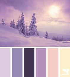 Bonjour à tous, les premières neiges sont tombées, que diriez-vous d'harmoniser votre décoration intérieure?