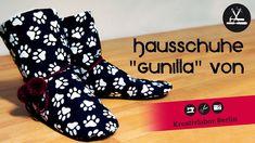 """Nähanleitung zu """"Hausschuhe Gunilla"""" vom Kreativlabor Berlin"""