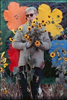 Warhol and Flowers