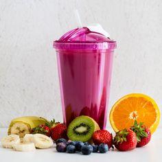 Fresh Smoothie Mug Smoothie Becher, Spoil Yourself, Smoothies, Raspberry, Tableware, Kitchen, Desserts, Joyful, Outdoors