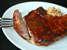 Sous-Vide 101: Spicy Rubbed Pork Chops with BBQ Sauce | Serious Eats : Recipes