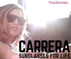 CARRERA sunglasses for life http://foursunnies.com/es/25-carrera #carrera #sunglasses