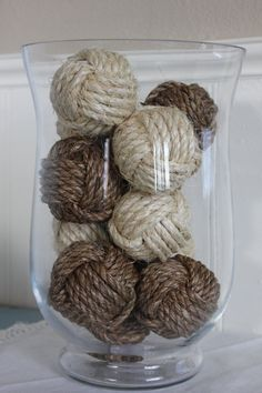 Nautical Rope Balls