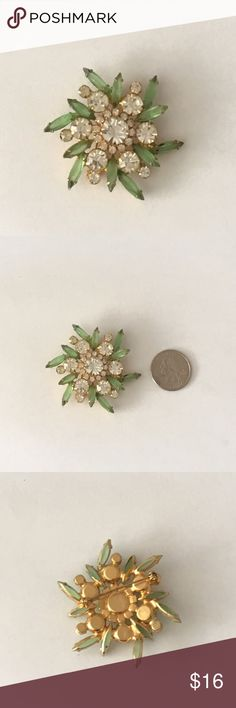 Vintage Brooch From my Grandmothers Vintage Collection. She started collected them when she was younger at yard sales in New York. Over 700 pins and brooches in her collection. Vintage Jewelry Brooches