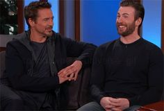 — ¡My God, they're so cute together!¿ #CivilWar ?