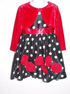 Ashley Ann Girl's Party Graduation Pageant Black/White/Red Party Dress Sz 4 & 5 #AshleyAnn #DressyEverydayHoliday