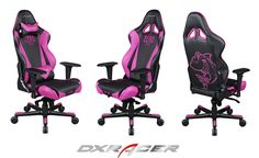 Dxracer chair RJ0NP $369 Black and Pink.#Nintendo #NintendoMag #NintendoGamecube #SmashBros