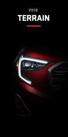 When designing the all-new 2018 Terrain compact SUV we gave our attention to every detail. From its striking C-shaped LED signature lighting to its stunning floating roof, this small SUV has been refined on every level. Experience the next chapter of design from GMC.